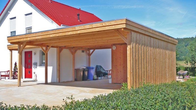 Beliebt Home Carports - Carports und Überdachungen aus Holz und Metall NE49